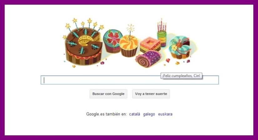 cumple google